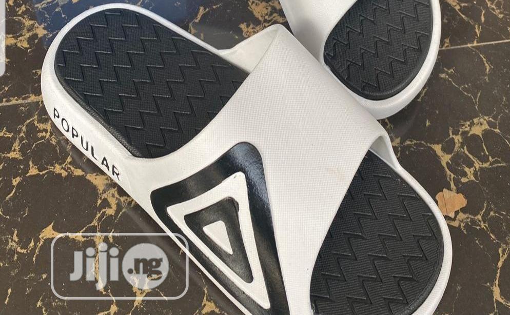 Original Adidas Popular Slides Slippers | Shoes for sale in Lagos Island (Eko), Lagos State, Nigeria