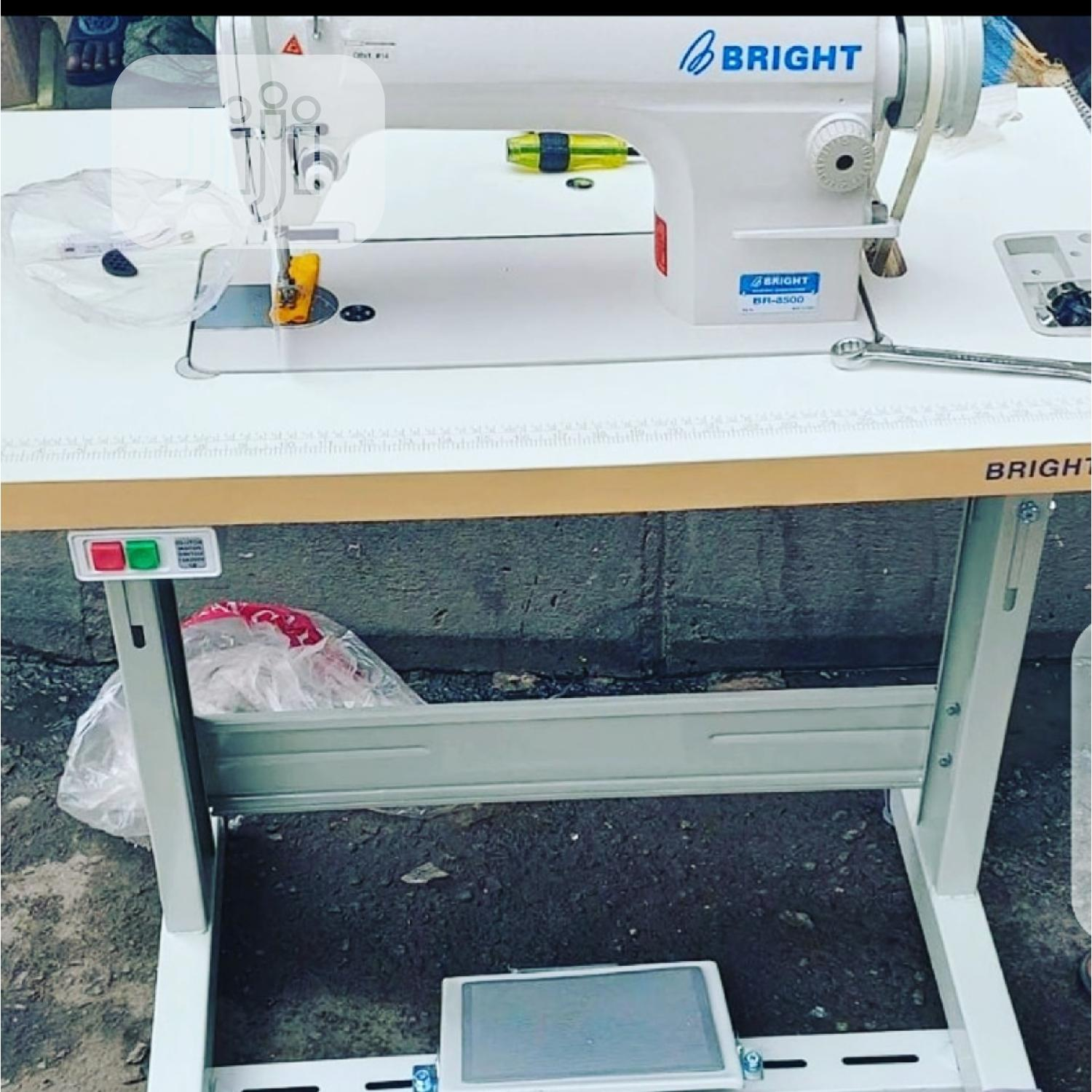 Bright Industrial Sewing Machine