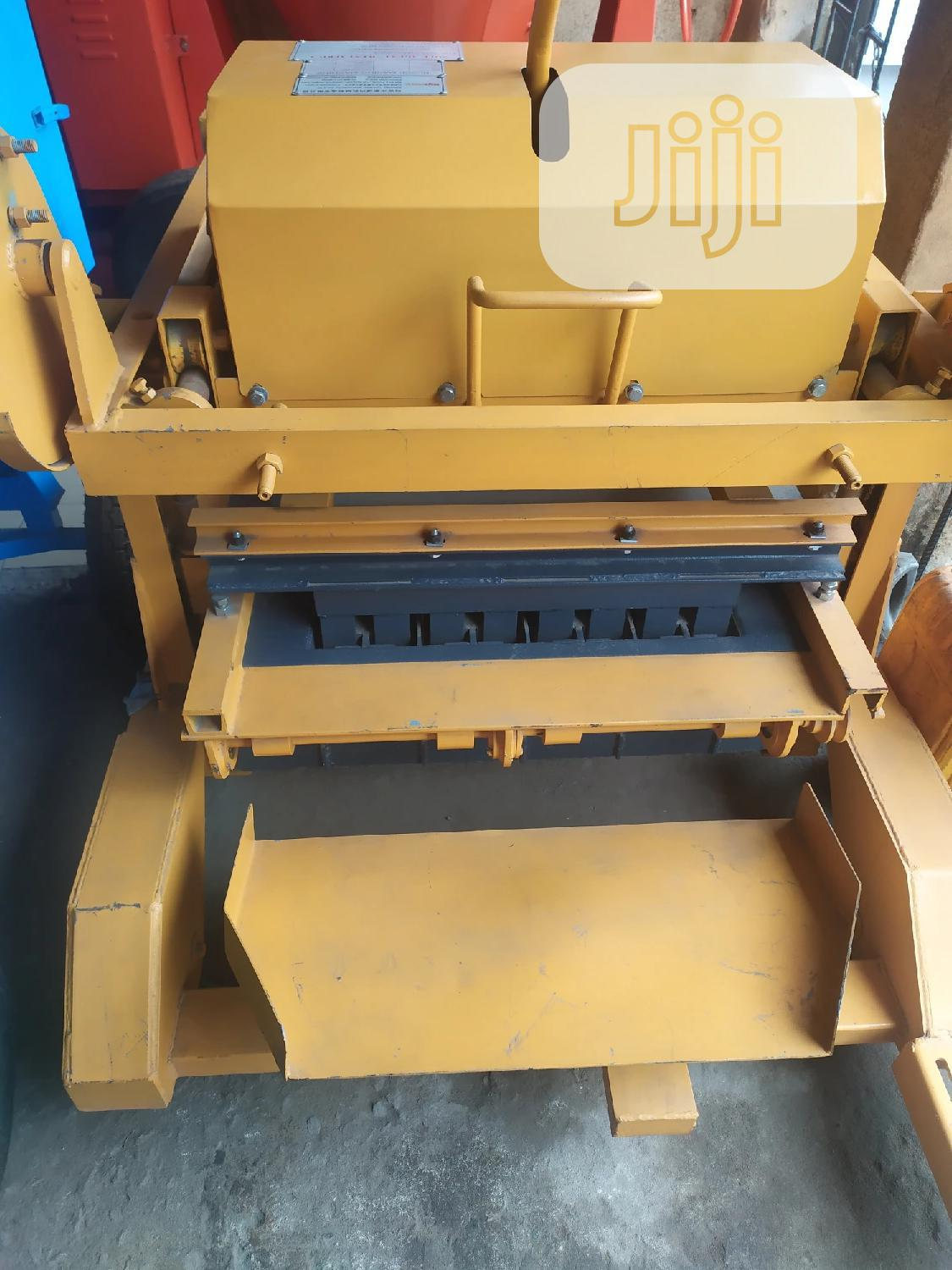 Block Moulding Machine | Manufacturing Equipment for sale in Ojo, Lagos State, Nigeria