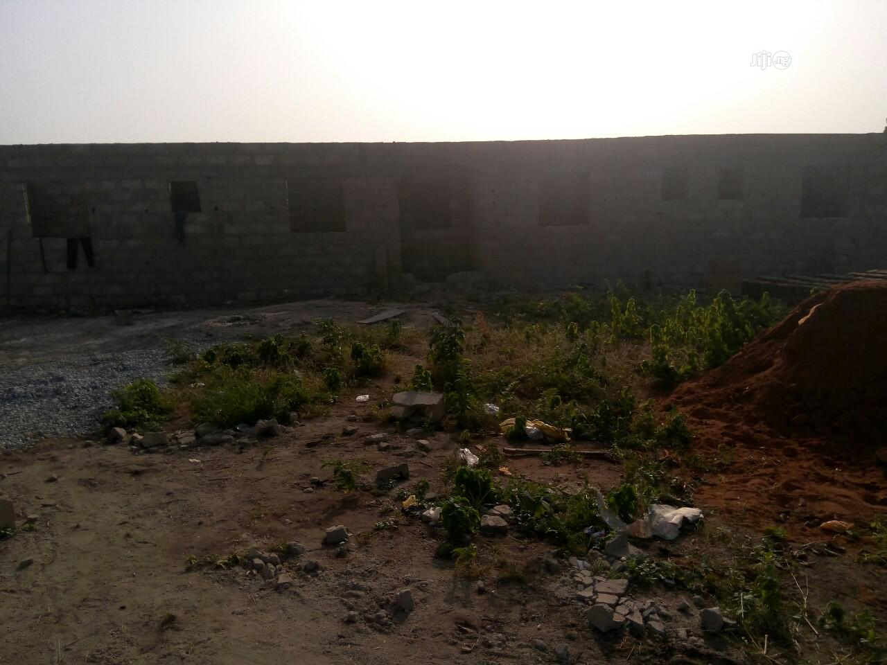 1 Plot of Land Behind Bena Farm,With Uncompleted Structure | Land & Plots for Rent for sale in Ijebu Ode, Ogun State, Nigeria