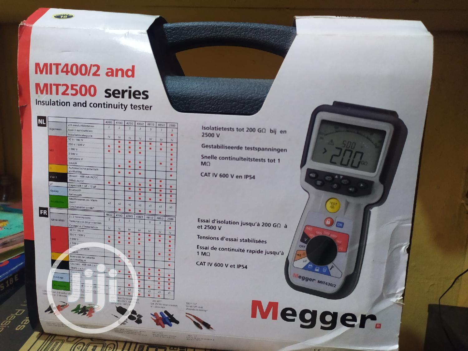 Megger Insulation Resistance Tester | Measuring & Layout Tools for sale in Ojo, Lagos State, Nigeria