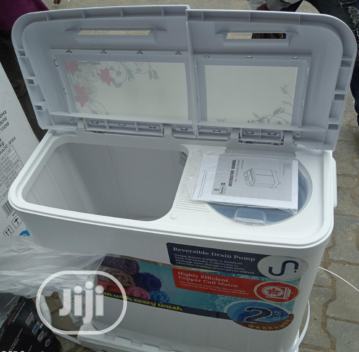 Scanfrost 7kg Washing And Spining