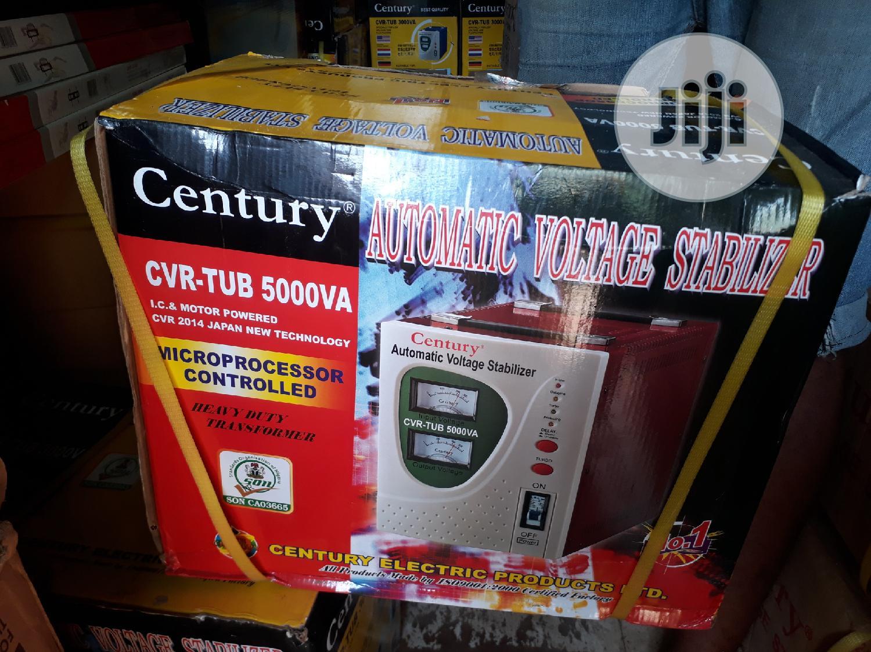 Century Automatic Voltage Stabilizer 5000 KVA Watts