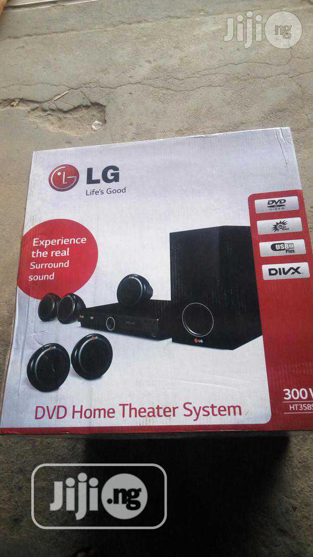 New LG 300W Small Box DVD Home Theater With Bluetooth