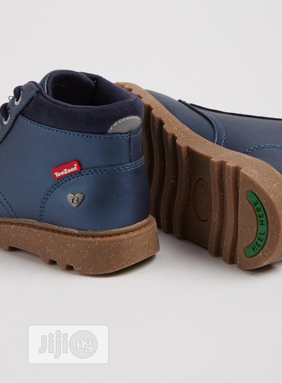 Toezone Metallic Chunky Laceup Boot   Children's Shoes for sale in Alimosho, Lagos State, Nigeria