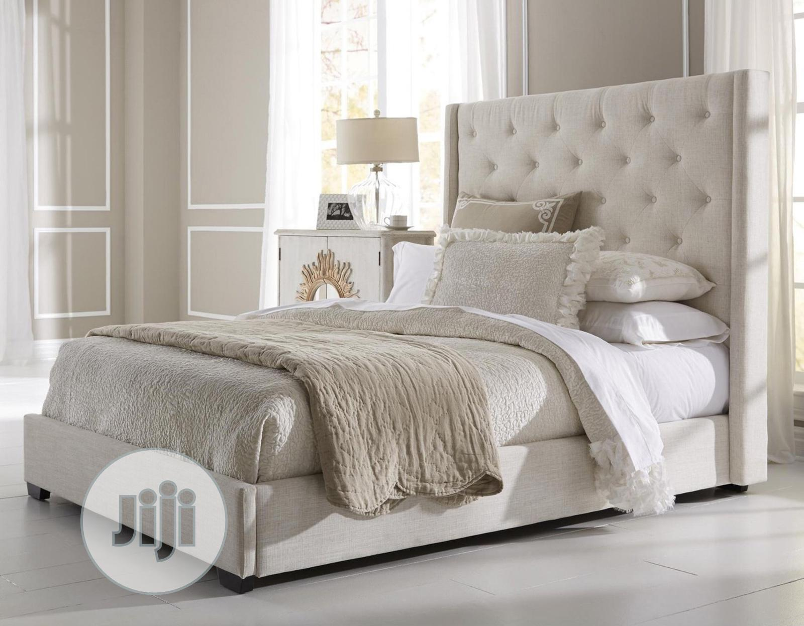 Queen Size Bedframe Chest Upholstered Bed