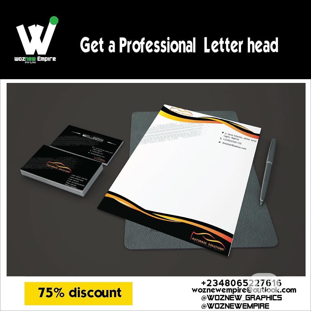 Archive: Logo, Letterhead, Flyer, Business Card