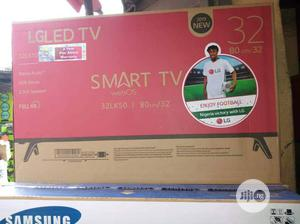 32 Inch Smart LG LED FULL HD TV With Youtube and Netflix | TV & DVD Equipment for sale in Lagos State, Ojo