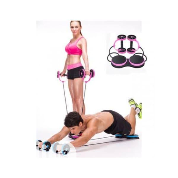 Multifunctional Abdominal Wheel Abs Fitness / Exercise Kit