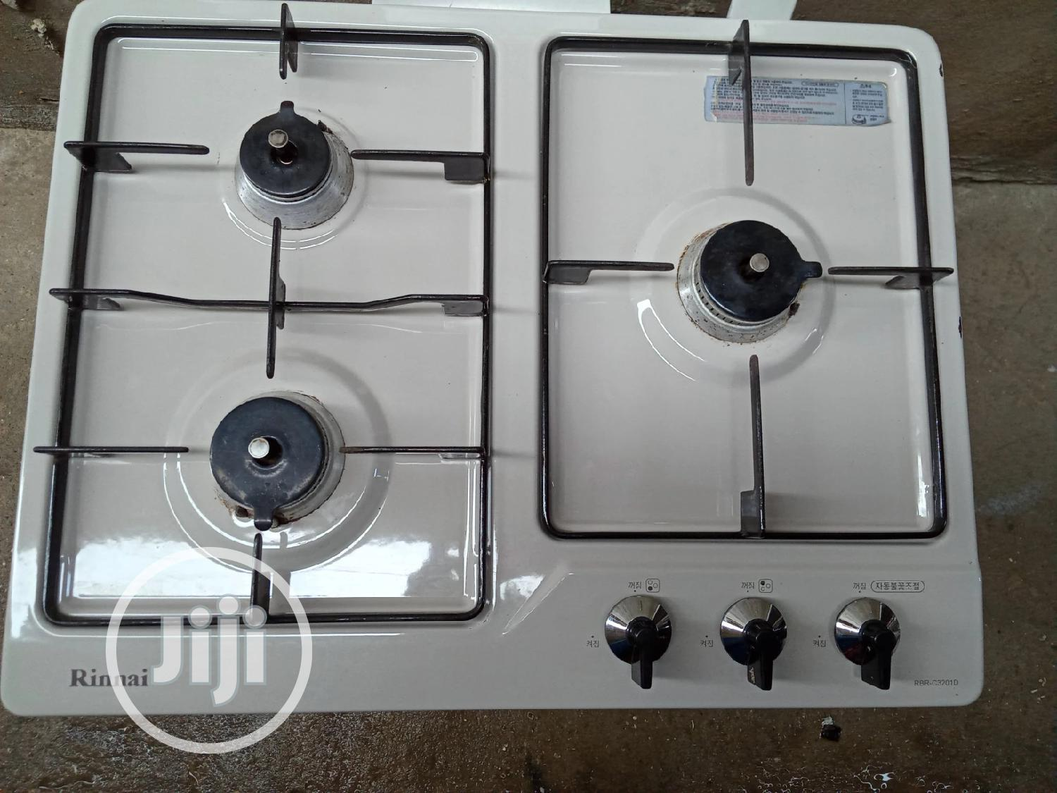 Strong 3burner Table Gas Cooker