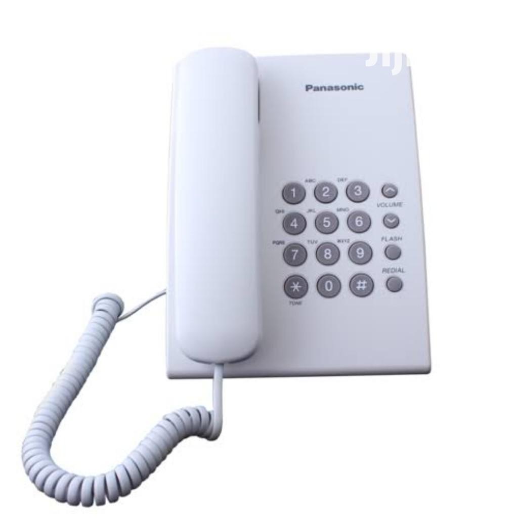 Panasonic Intercom Corded Landline Phone KX-TX500MS White