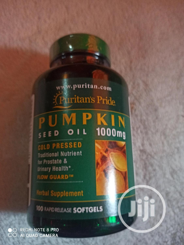 Pumpkin Seed Oil Softgel 1000 Mg