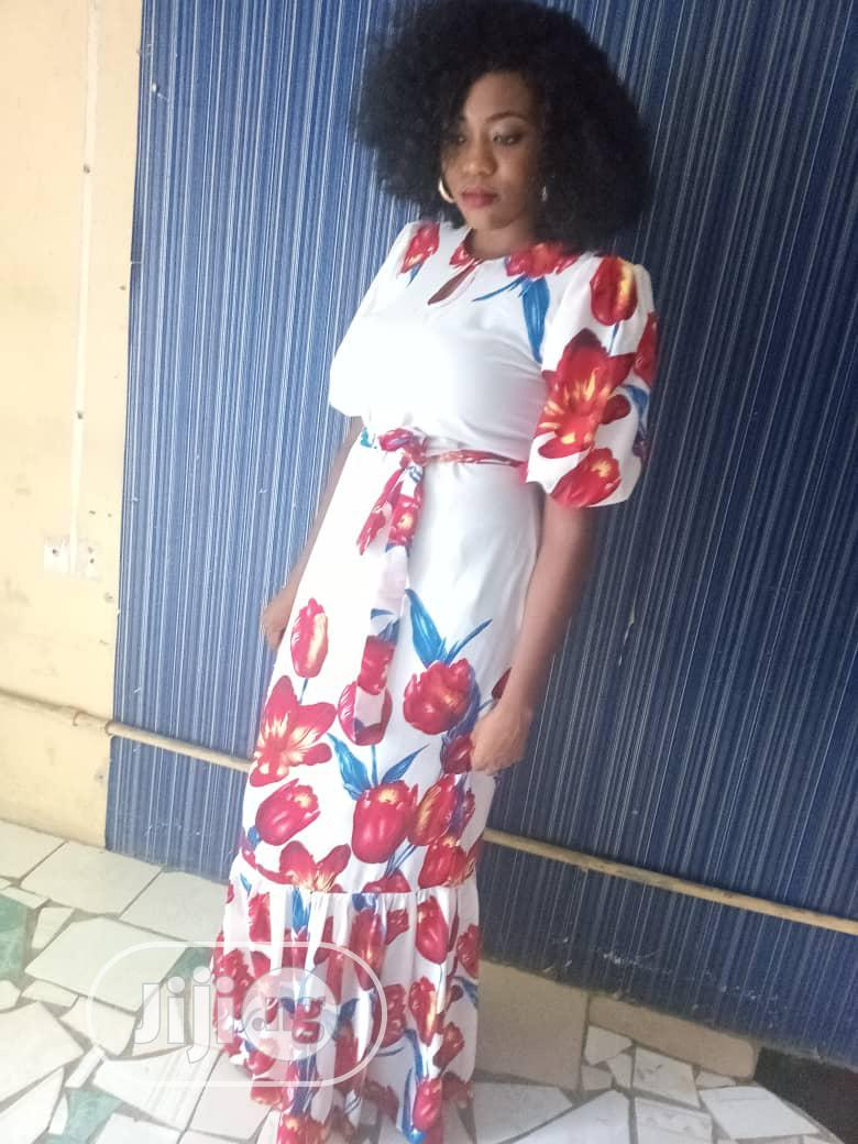 Archive: Floral Chiffon Dress