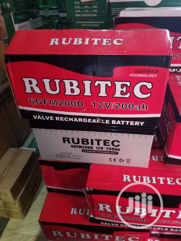 200ah Rubitec Battery