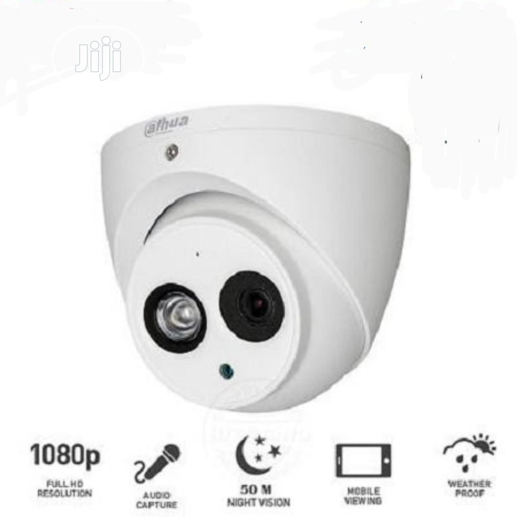 Dahua 2MP Dome CCTV Camera DH-HAC-HDW1200EMP-A 3.6mm Built-in Mic HDCV