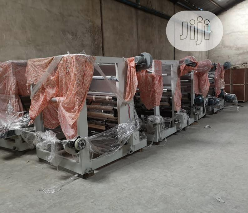Machine Nylon Flexo Printing Gravure Nylon Production | Printing Equipment for sale in Ojo, Lagos State, Nigeria