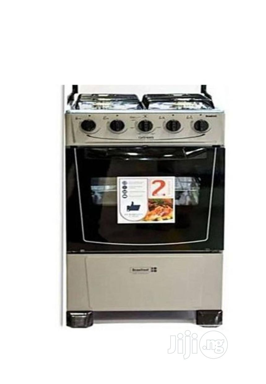 Scanfrost 4 Burners Standing Gas Oven + Cooker + Grill
