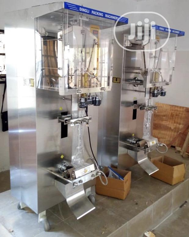 Dingli Pure Water Sachet Making Machines Setup