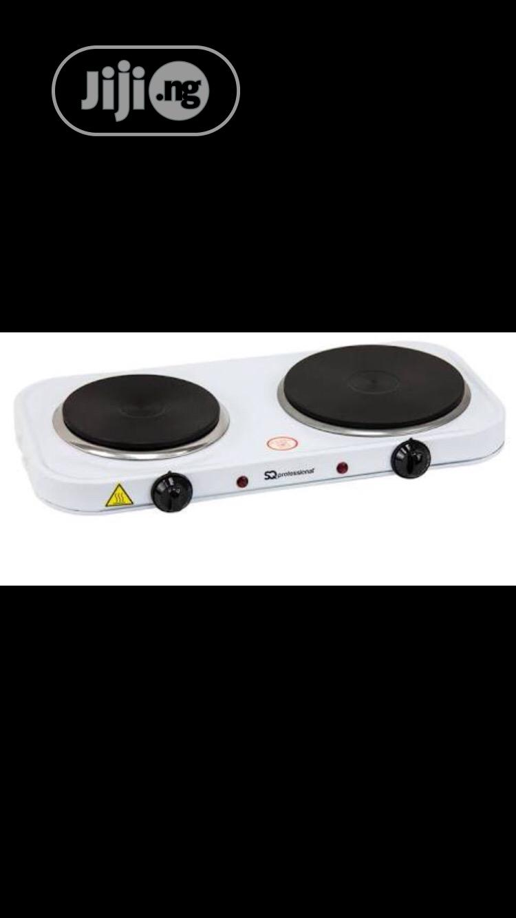Archive: 2 in 1 Eleganto Hot Plate