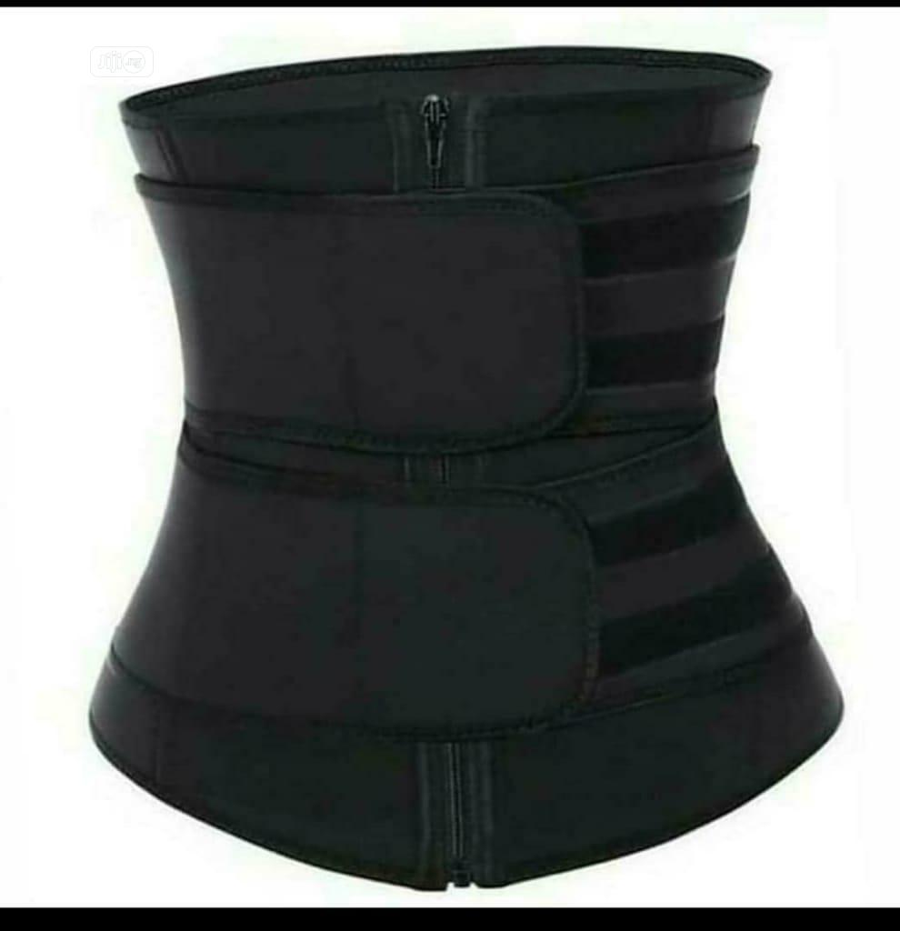 LATEX Top Quality Double Strap Waist Trainer