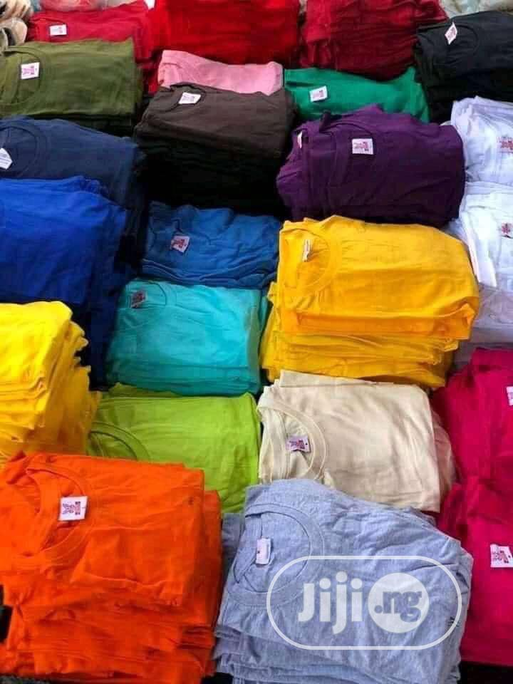 Archive: Plain Tees And Face Caps