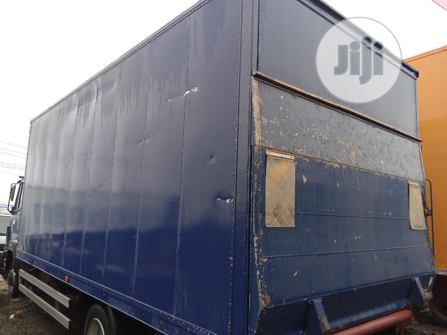 Mercedes Benz 814 Container Body Truck   Trucks & Trailers for sale in Apapa, Lagos State, Nigeria