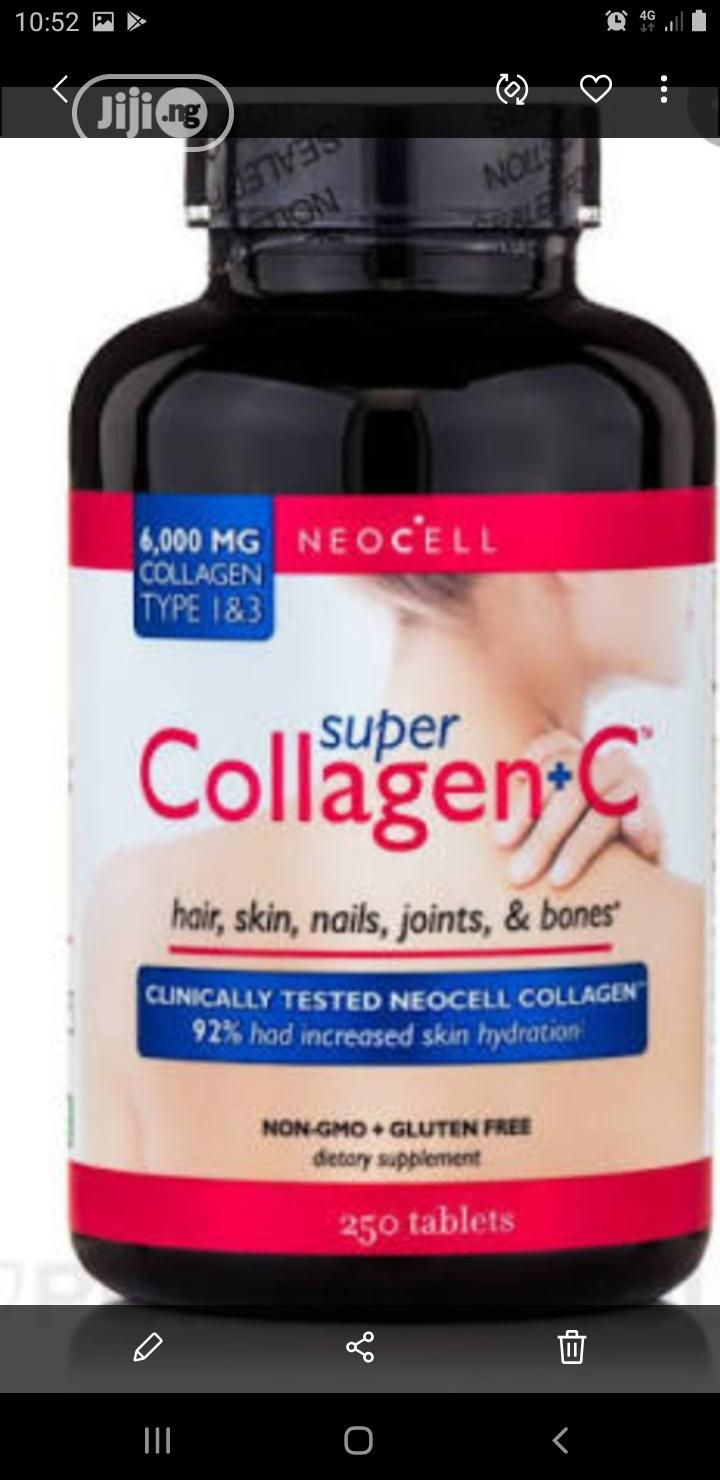 Neocell- Super C Collagen Tablets | Vitamins & Supplements for sale in Lagos Island (Eko), Lagos State, Nigeria
