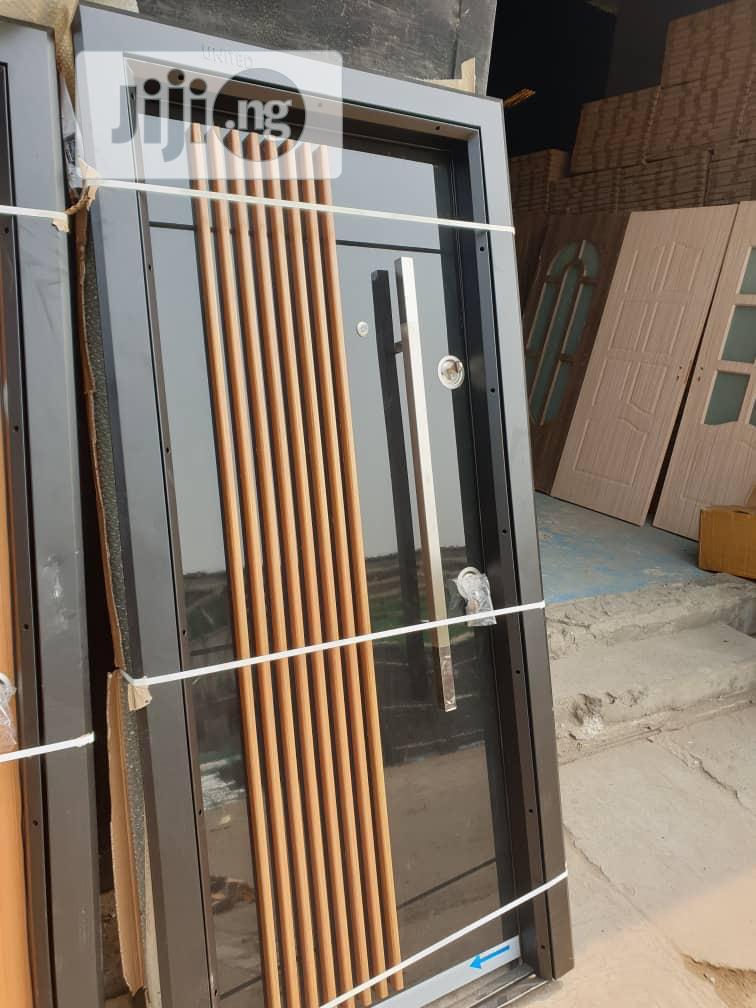 900x2100 Luxury Up Balcony Turkey Doors With Good Finishing