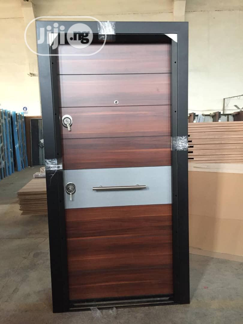 900x2100 Luxury Up Balcony Turkey Doors With Good Finishing | Doors for sale in Amuwo-Odofin, Lagos State, Nigeria