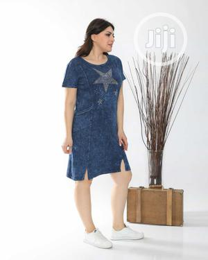 Trending Turkey Jeans Gown | Clothing for sale in Lagos State, Ojo