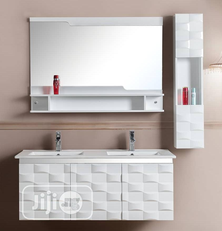 Double Bowl Hanging Washhand Bathrooms/Dinning Cabinet