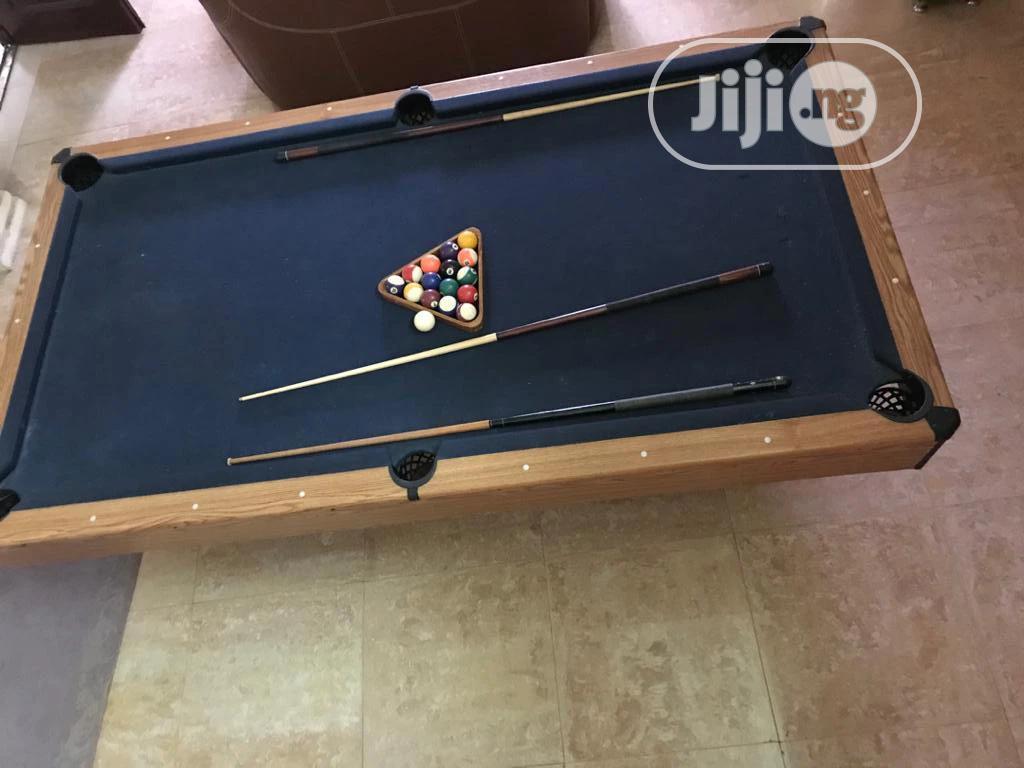 A Standard Snooker Board