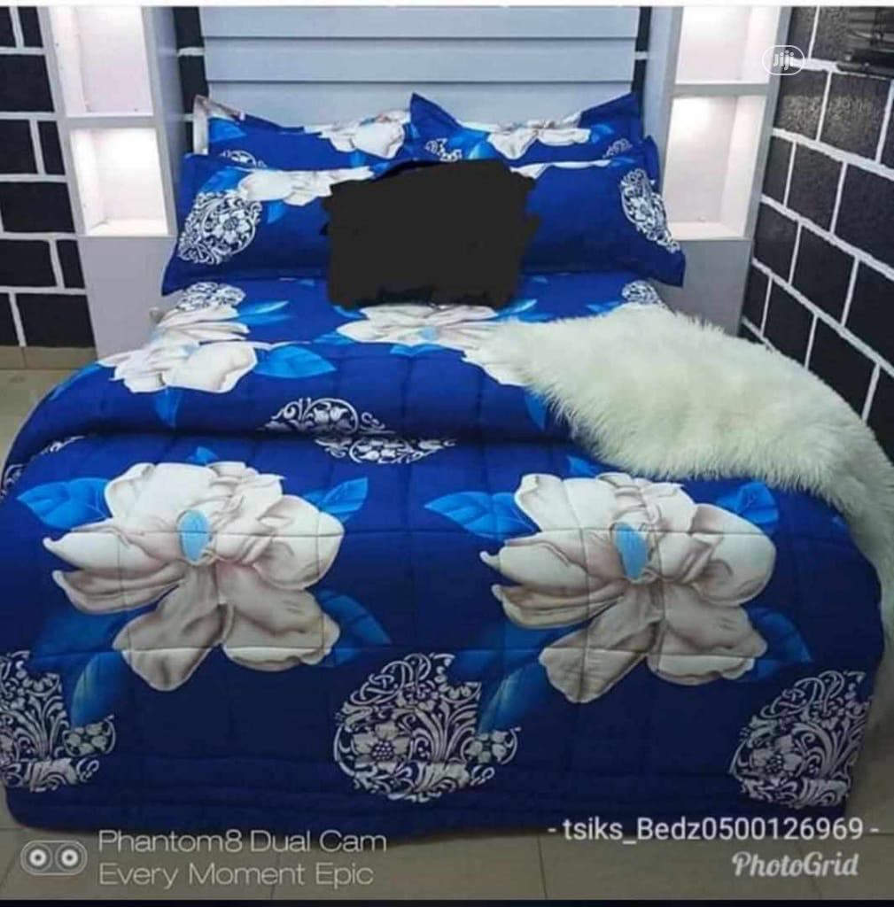 Quality Bedsheet or Bedspreads 4/6 and 2 Pillow Case | Home Accessories for sale in Ikorodu, Lagos State, Nigeria