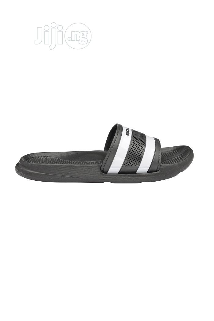Gola Active Men'S Black/White AMP678BW Flip Flop | Shoes for sale in Ikeja, Lagos State, Nigeria