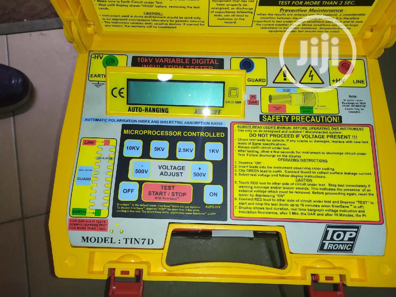 Toptronic 10kv Insulation Resistance Tester