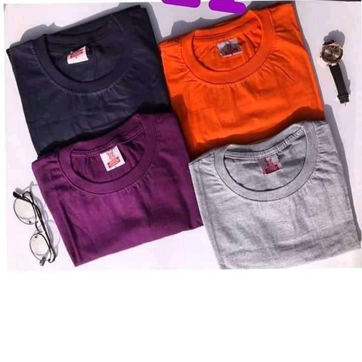 Quality Plain Tee Or Roundneck Wholesales | Clothing for sale in Ojodu, Lagos State, Nigeria