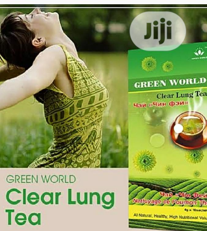 Green World Lung Clear Tea