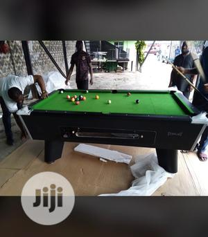 8ft Coin Operated Snooker Board With Complete Accessories   Sports Equipment for sale in Lagos State, Ikeja