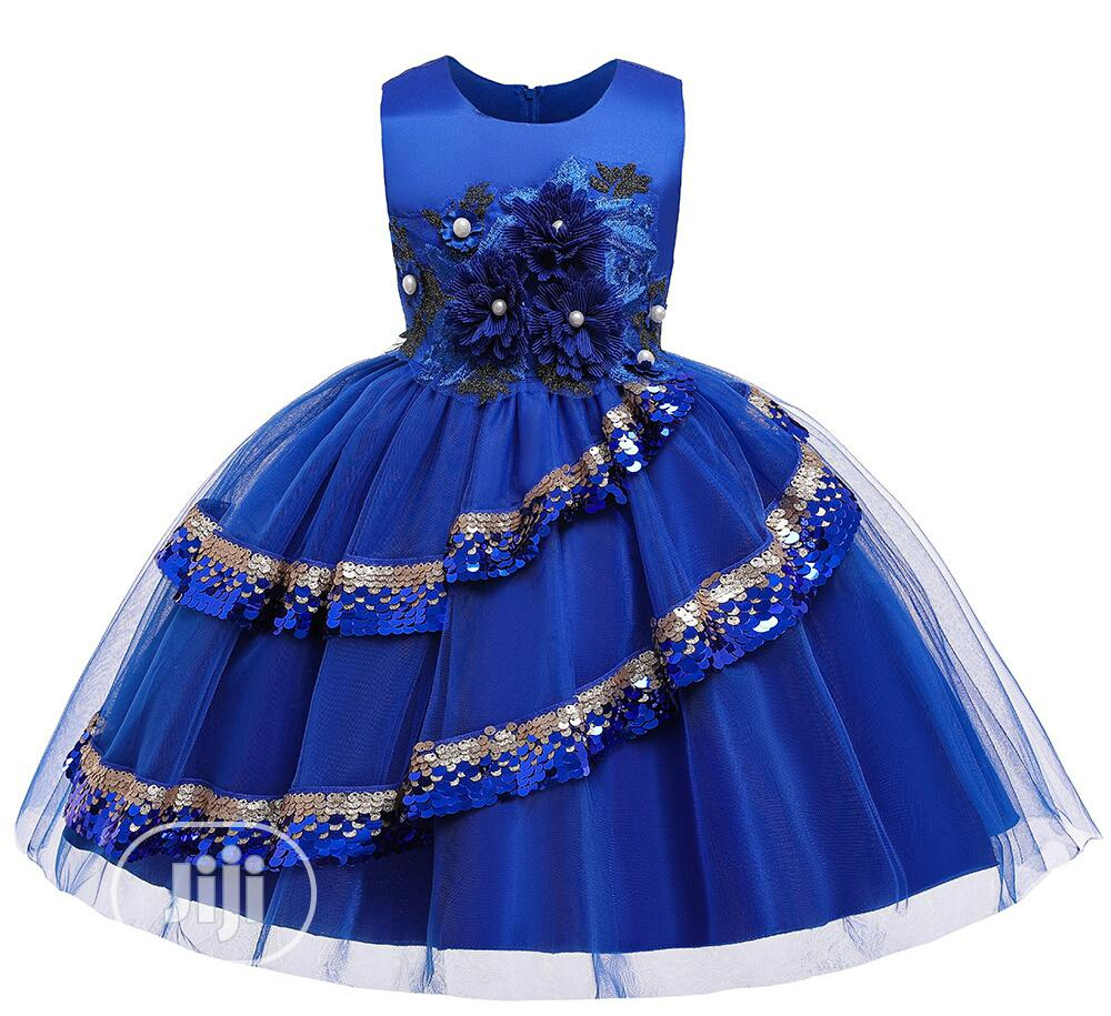 Children Beautiful Gown