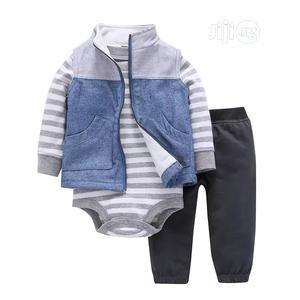 3pcs Babyboy Set | Children's Clothing for sale in Lagos State, Kosofe