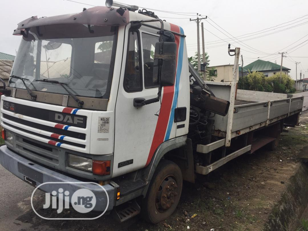 Man Crane Truck | Trucks & Trailers for sale in Port-Harcourt, Rivers State, Nigeria