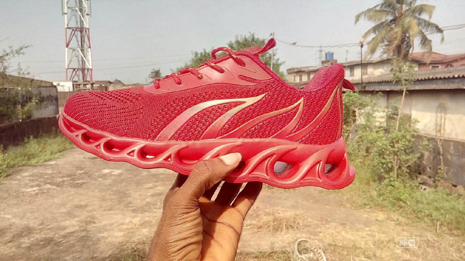 Red Sneakers | Shoes for sale in Alimosho, Lagos State, Nigeria