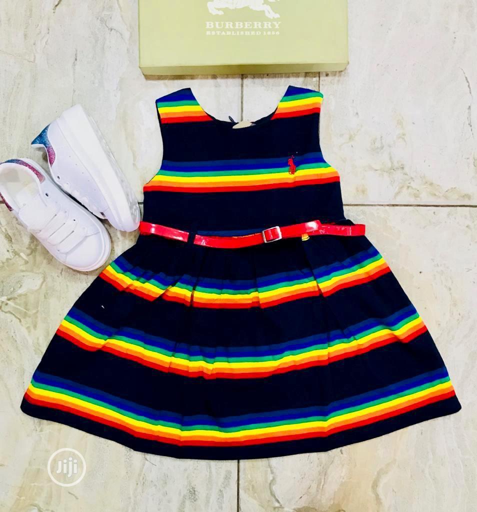 Girls Designer Dress Available | Children's Clothing for sale in Lagos Island (Eko), Lagos State, Nigeria