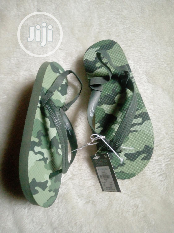 Camo Flip Flops 🌺🌺 | Children's Shoes for sale in Ifako-Ijaiye, Lagos State, Nigeria