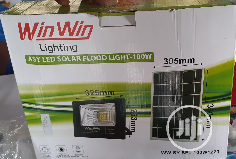 Asy LED Solar Flood Light 100watts | Solar Energy for sale in Ajah, Lagos State, Nigeria