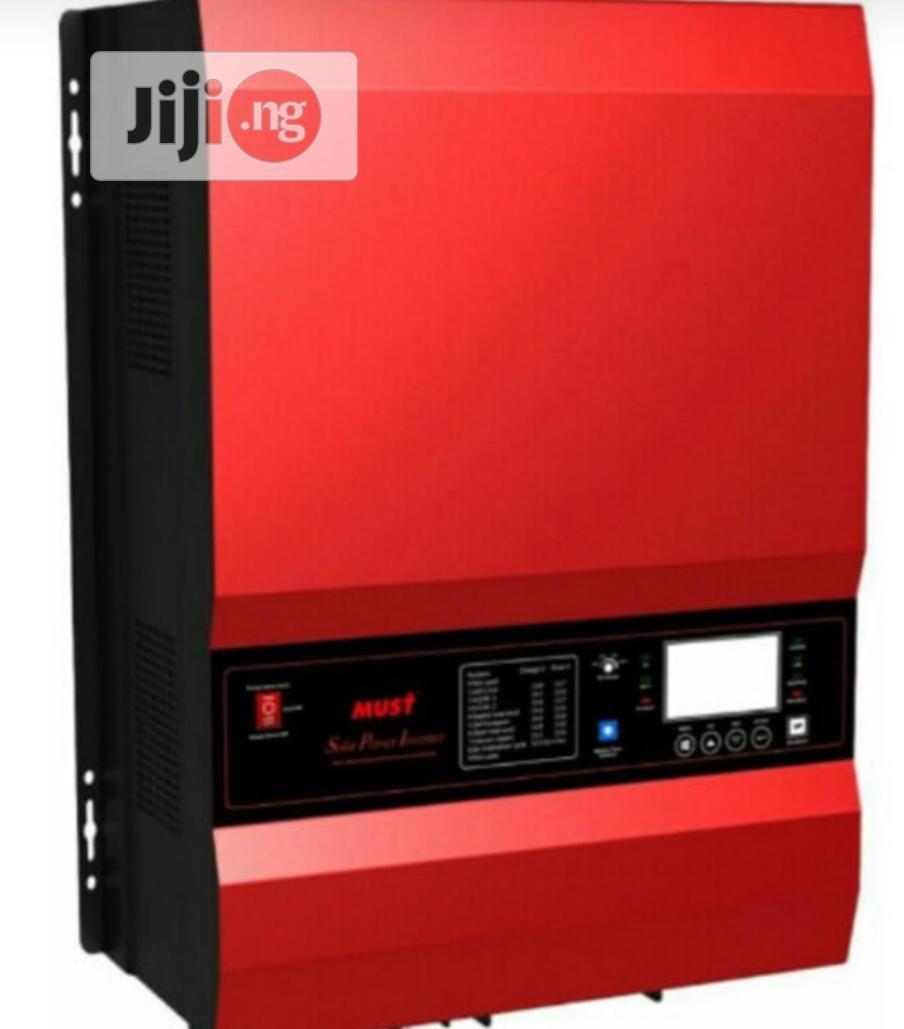 12kw 48v Hybrid Inverter With Inbuilt MPPT Solar Charge Controller