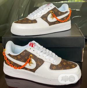 Nike Air Force 1 X Louis Vuitton Sneakers | Shoes for sale in Lagos State, Magodo