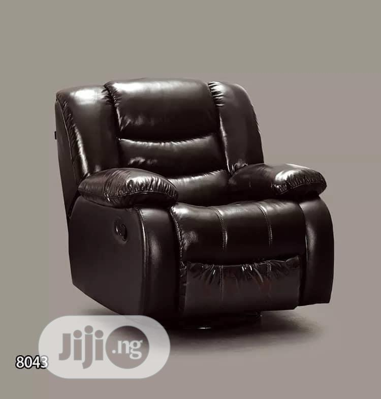 Archive: Leather Recliner Single Sofa