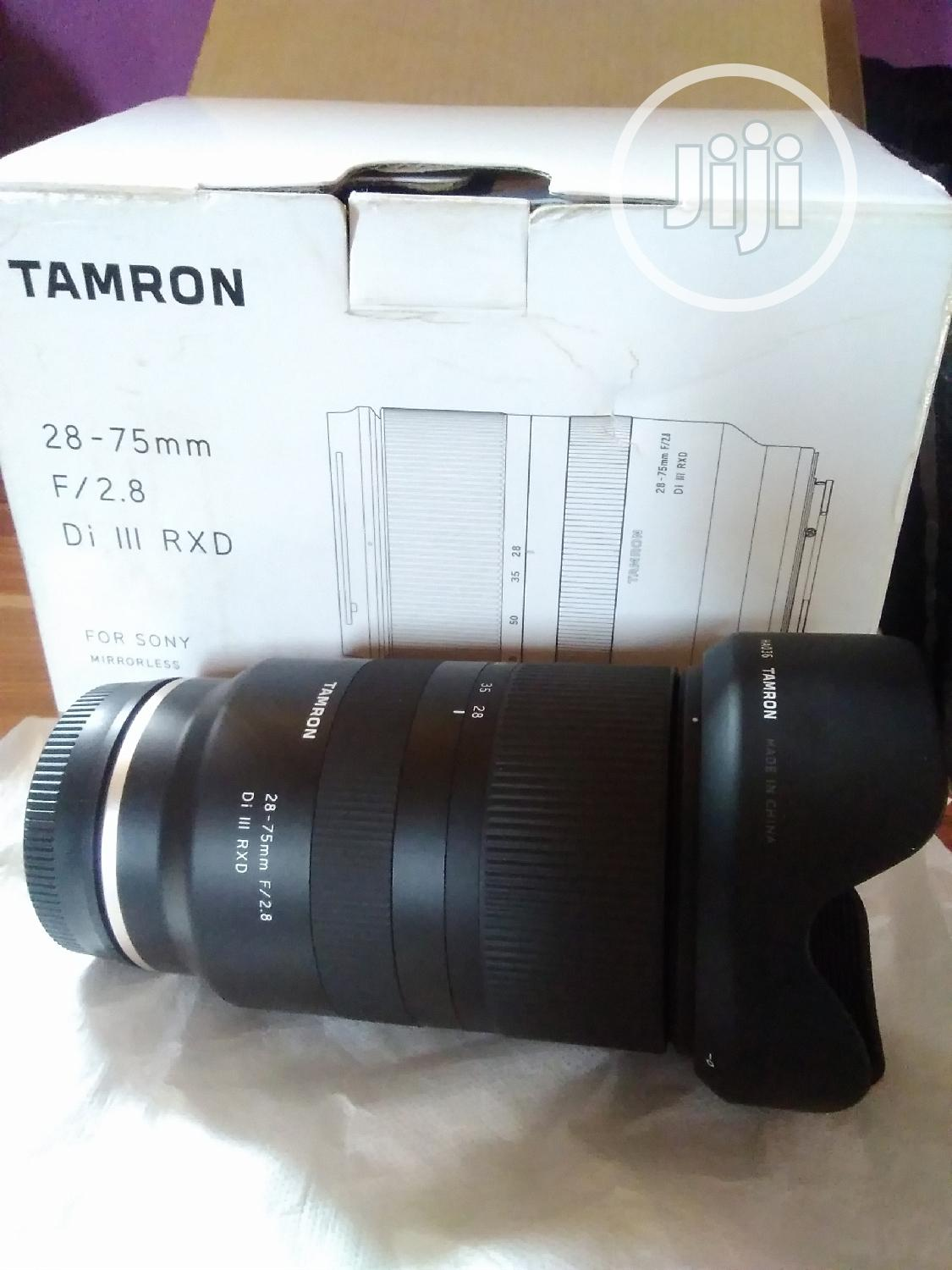 28 -75mm F2 .8 Tamron Lens for Sony | Accessories & Supplies for Electronics for sale in Alimosho, Lagos State, Nigeria
