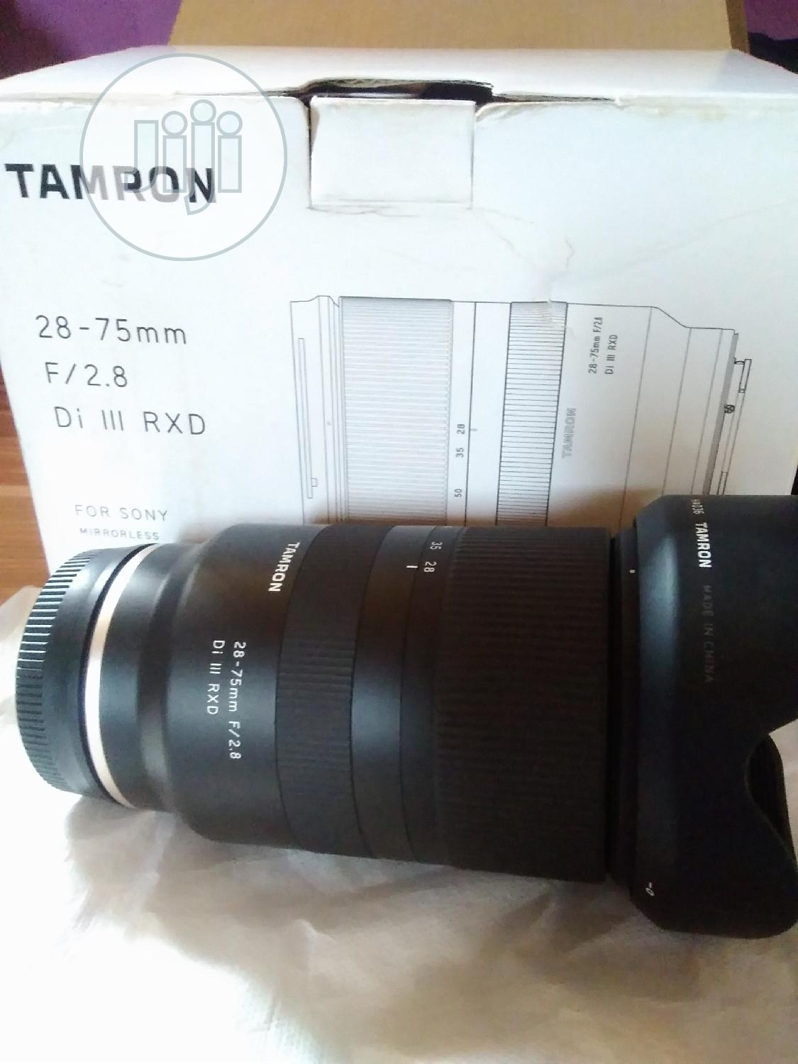 28 -75mm F2 .8 Tamron Lens for Sony